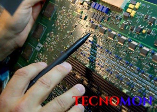 Montagem de circuitos eletrônicos