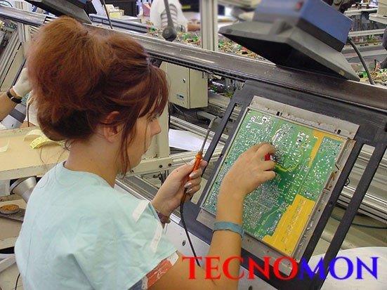 Montagem de circuitos eletrônicos smd