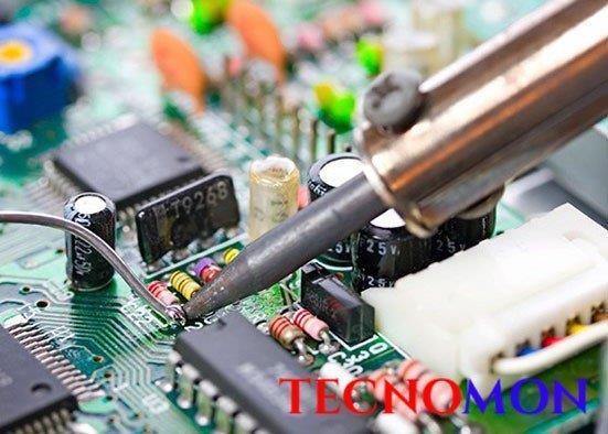Montagem de circuitos pth