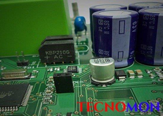 Montagem de componentes smd