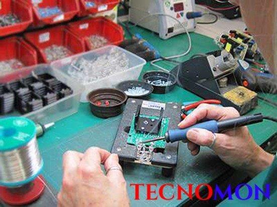 Serviço de montagem de placas eletrônicas